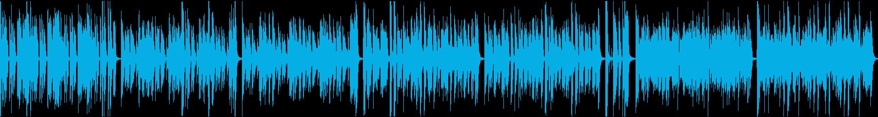 おしゃれイケイケ/静かめカラオケ/ループの再生済みの波形