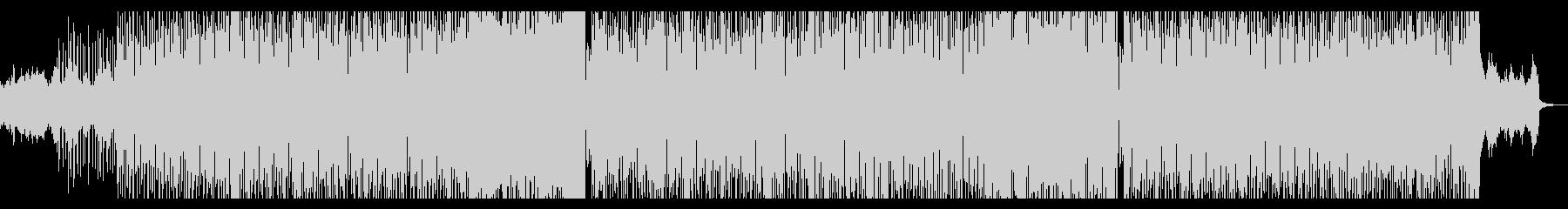 レトロフューチャー感のあるインストポップの未再生の波形