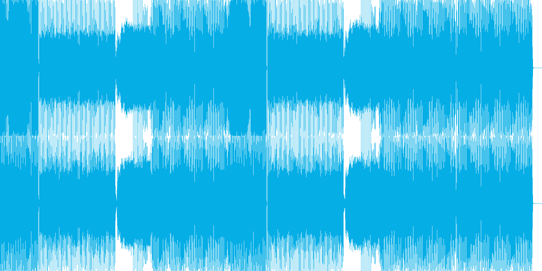 stargemewalk会心のedm。…の再生済みの波形
