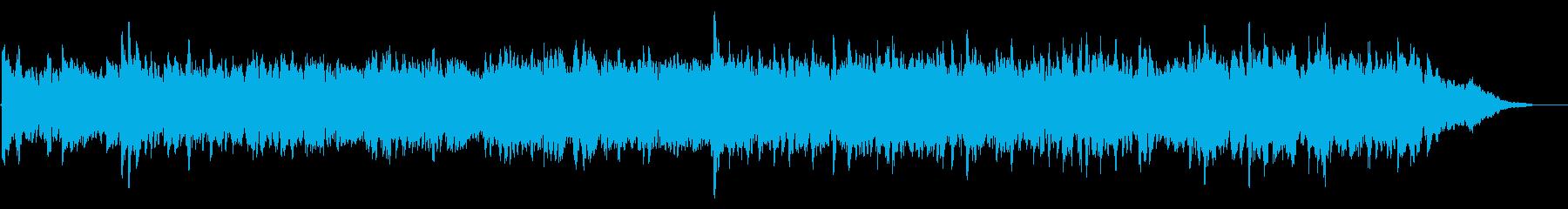 感動的で前向きなオーケストラサウンドの再生済みの波形