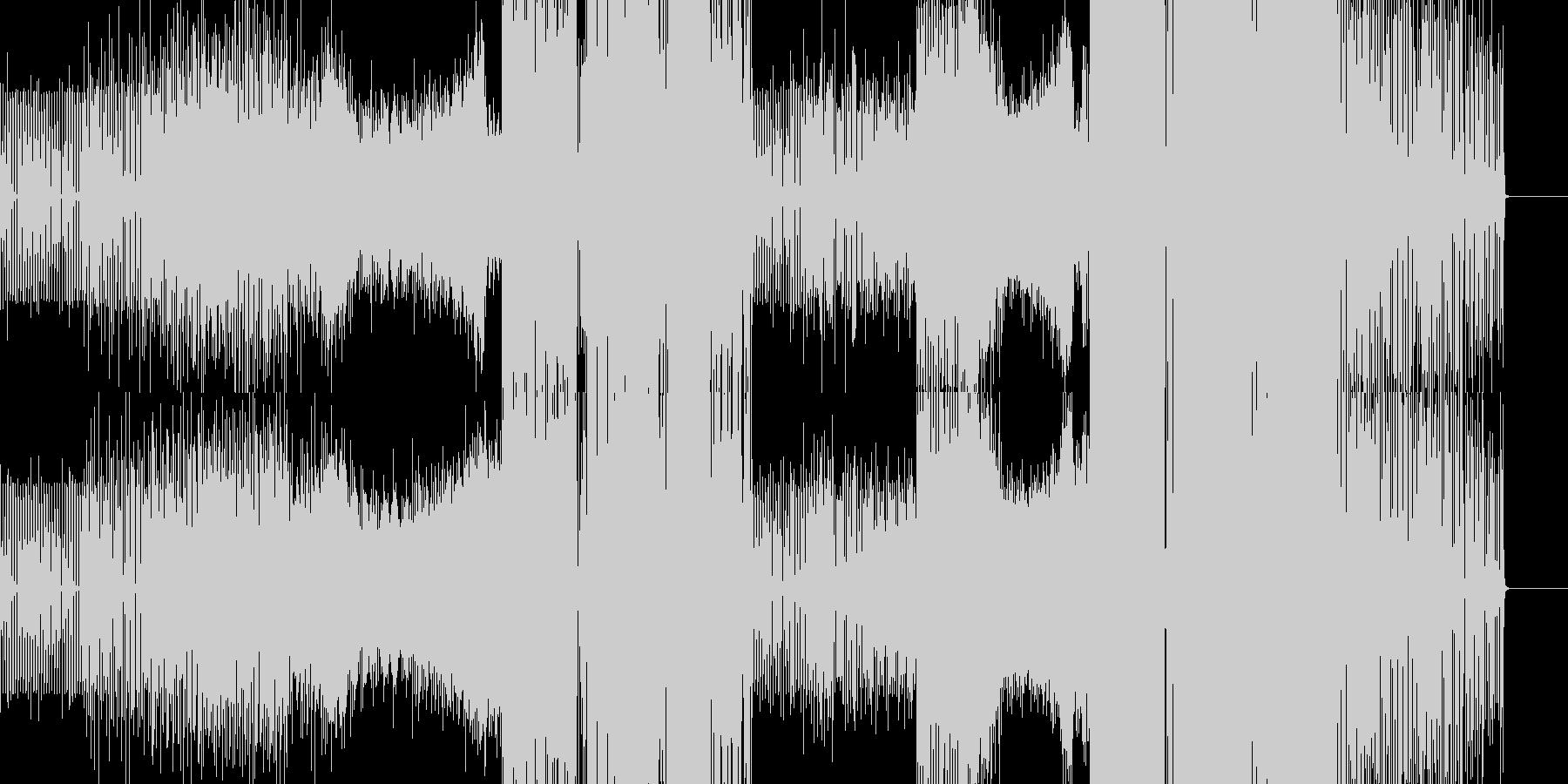 アフロダンスエレクトロ。の未再生の波形