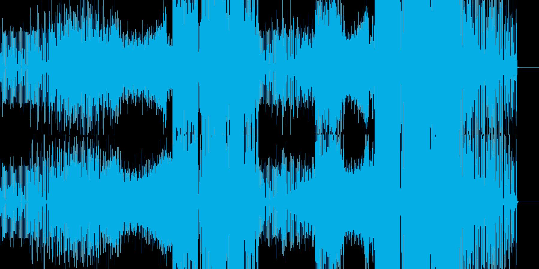 アフロダンスエレクトロ。の再生済みの波形