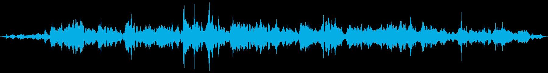 モンスター ワラクレイジー01の再生済みの波形