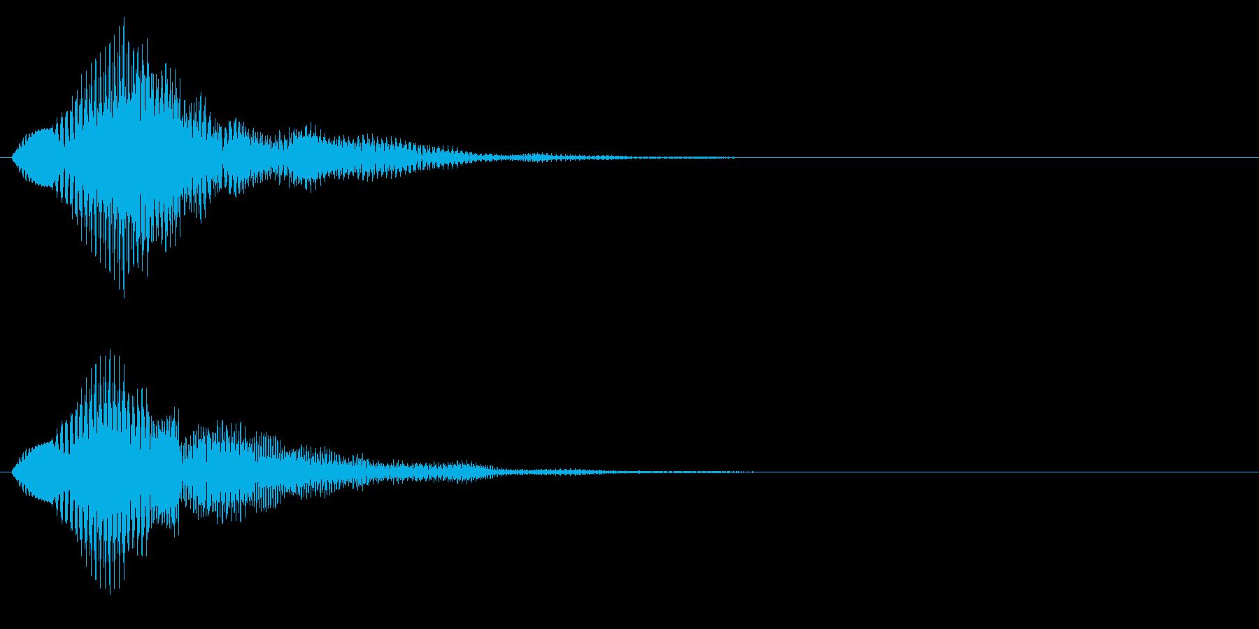 プワワン(回復魔法・アイテム使用)の再生済みの波形