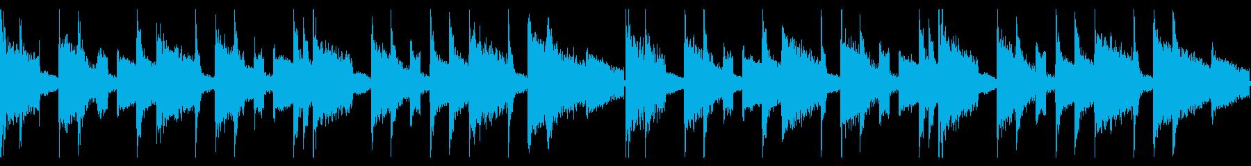 Instrumental loop with an impressive piano loop's reproduced waveform