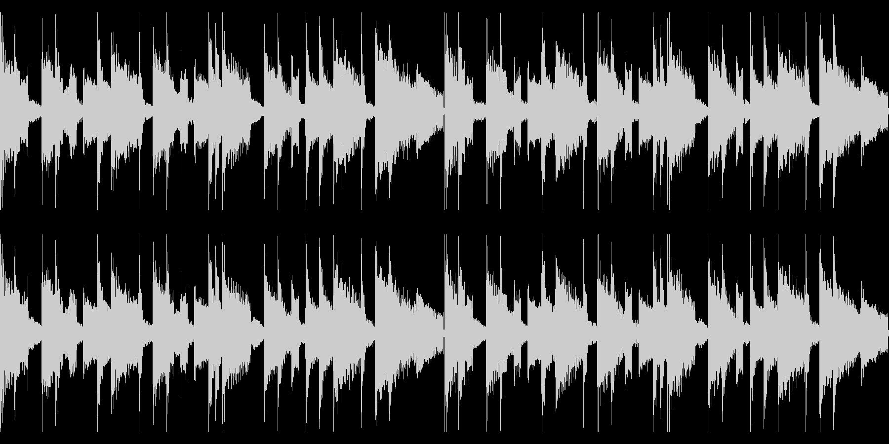 ピアノループが印象的なインスト ループの未再生の波形