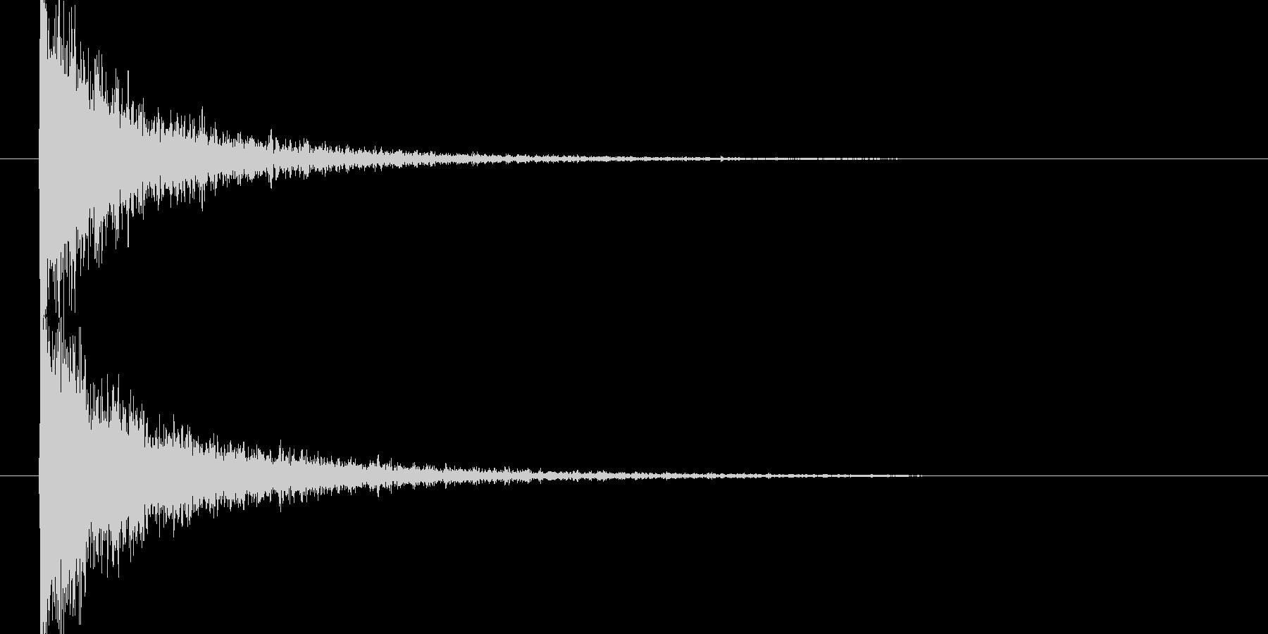 映画告知音147 ドーンの未再生の波形