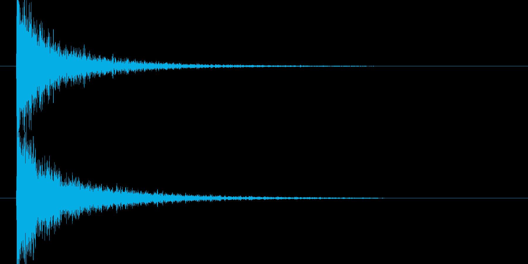 映画告知音147 ドーンの再生済みの波形