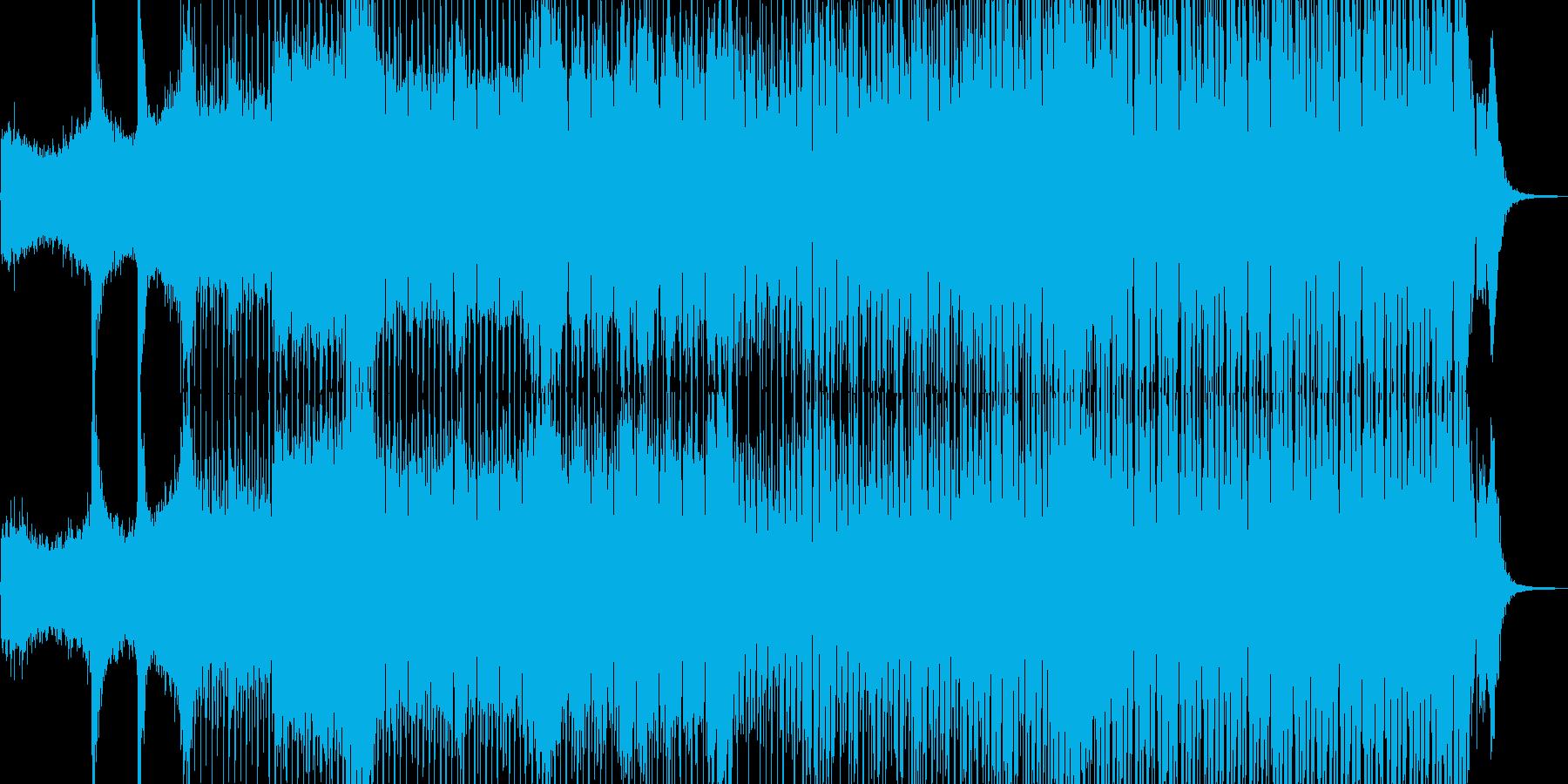 近未来を思い描いたテクノポップ Cの再生済みの波形