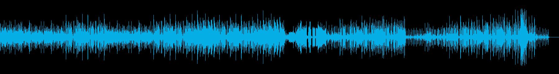 多国籍ミクスチャーミュージックの再生済みの波形