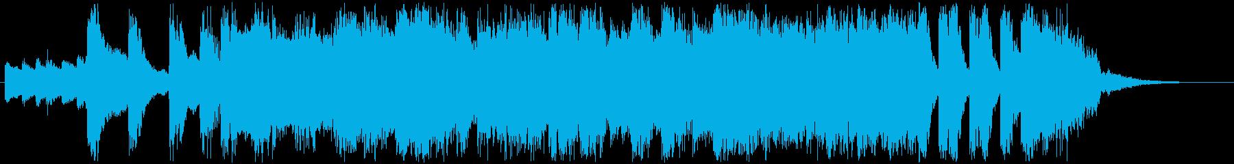 フワフワROCKアニメ系アイドルジングルの再生済みの波形
