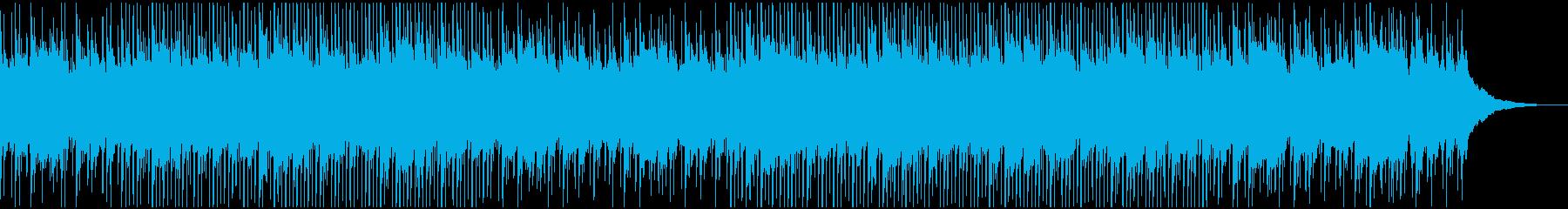 明るく楽しい元気なウクレレBGMの再生済みの波形
