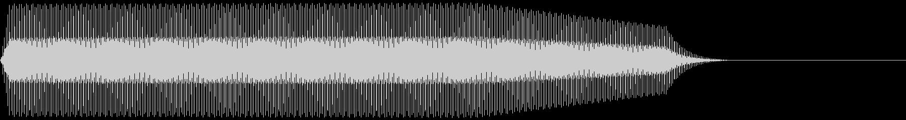 DENSHION ハイトーンな電子音 3の未再生の波形
