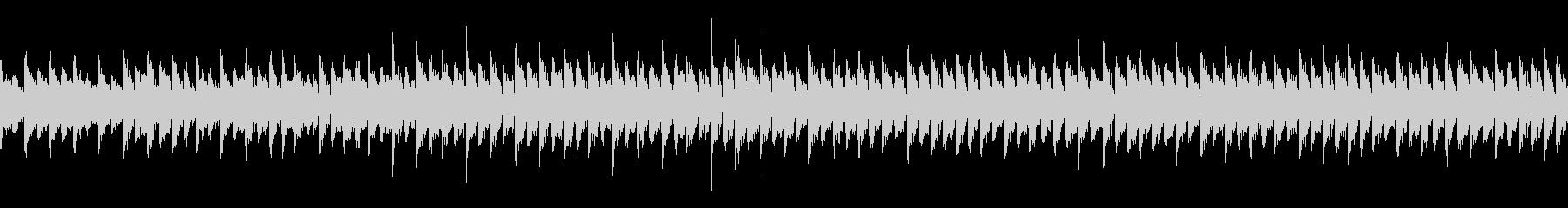 スクエア波形シンセの長めなループの未再生の波形
