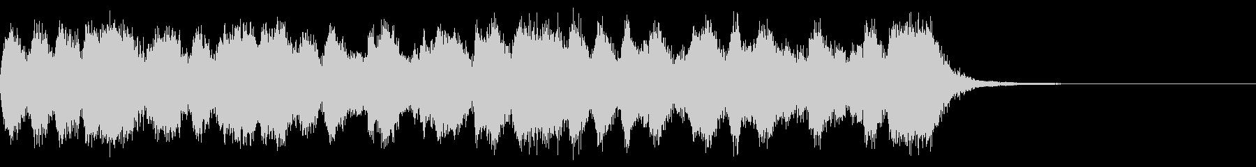 カートゥーン調のオープニングオーケストラの未再生の波形
