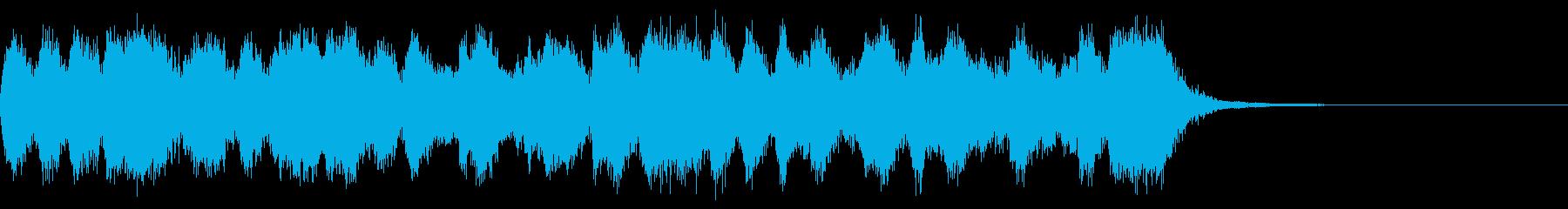 カートゥーン調のオープニングオーケストラの再生済みの波形