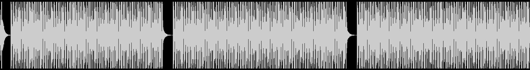 ダンジョン/無限ループの未再生の波形
