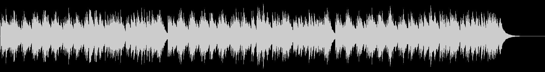 ジングルベル 72弁オルゴールの未再生の波形