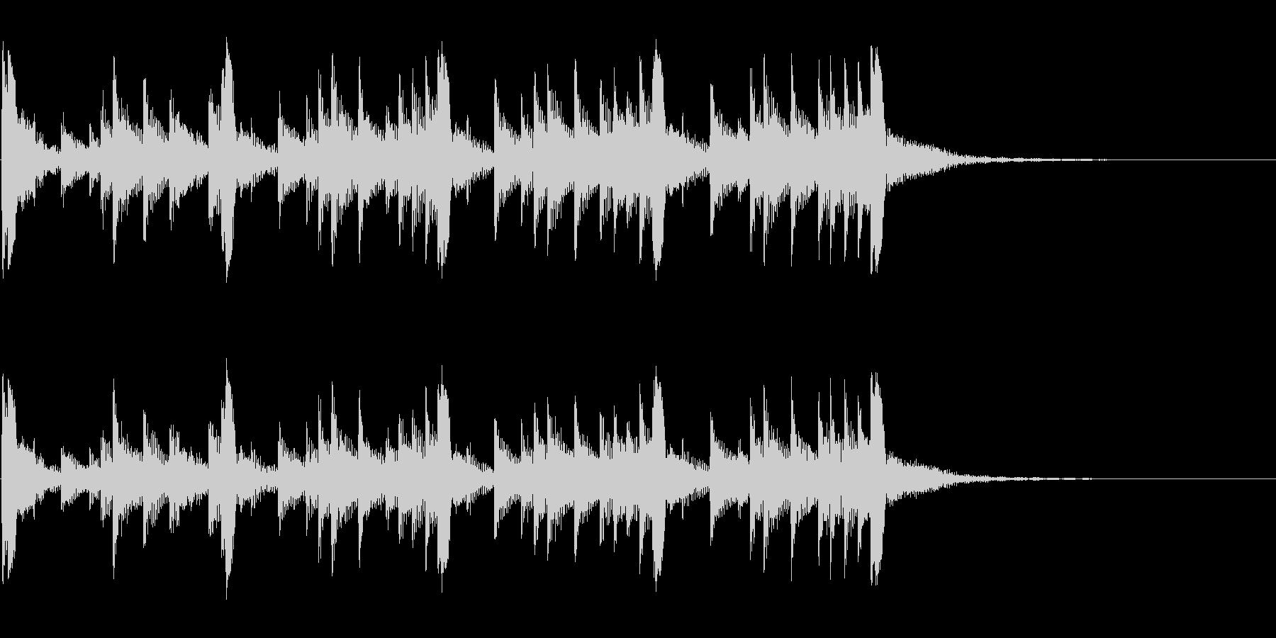 低音:トライバルリズム、漫画コメデ...の未再生の波形