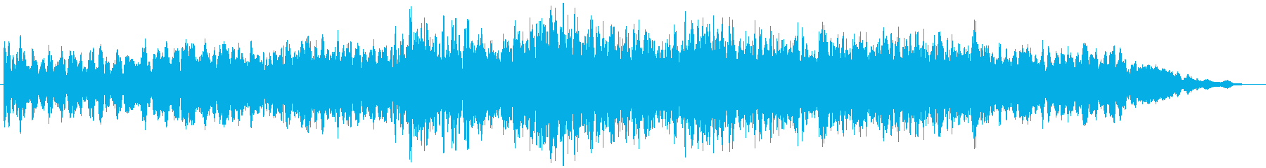 PADS 歌うガラス01の再生済みの波形