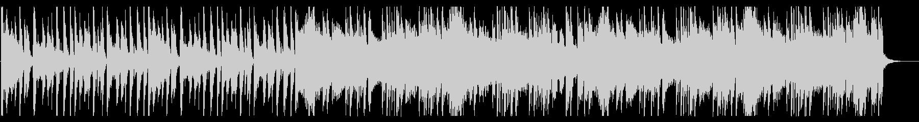 浮遊感が溢れるBGM_No580_3の未再生の波形