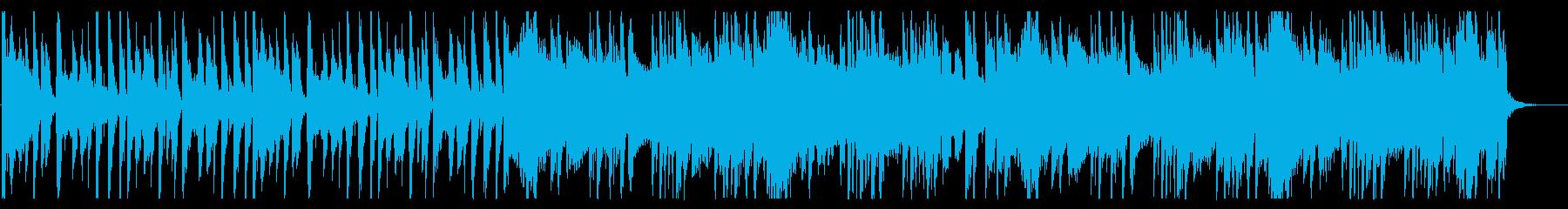 浮遊感が溢れるBGM_No580_3の再生済みの波形