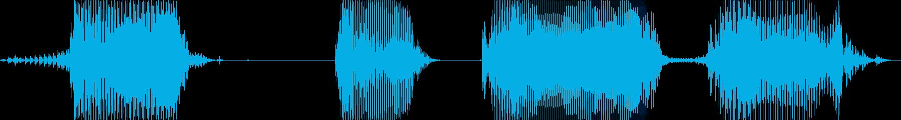 レッドカード!の再生済みの波形