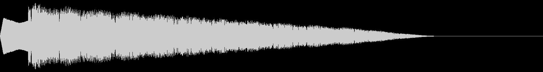 ピルルル(ワープ/ファミコン/ピコピコ)の未再生の波形