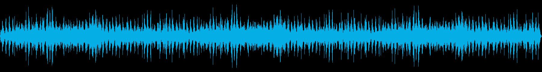 海に浮かぶ船の上から聞く波の音10分間の再生済みの波形