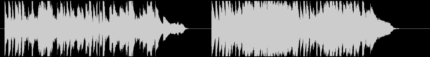 狂ったピアノによるエリーゼのためにの未再生の波形