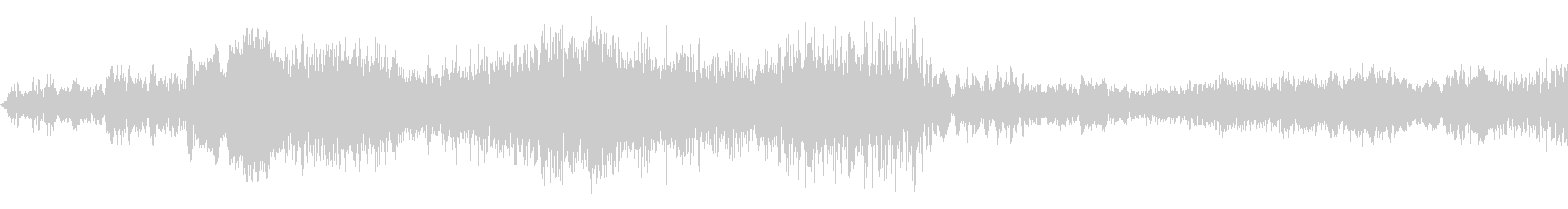 シャープなノイズ遷移の未再生の波形
