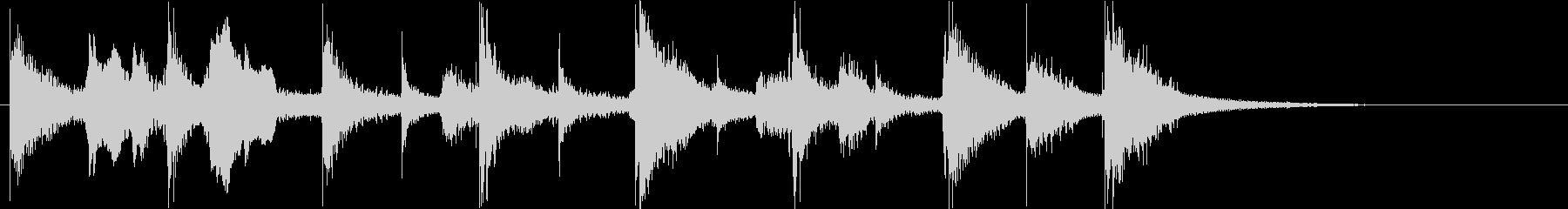 ジングル ウクレレ 口笛 かわいい の未再生の波形