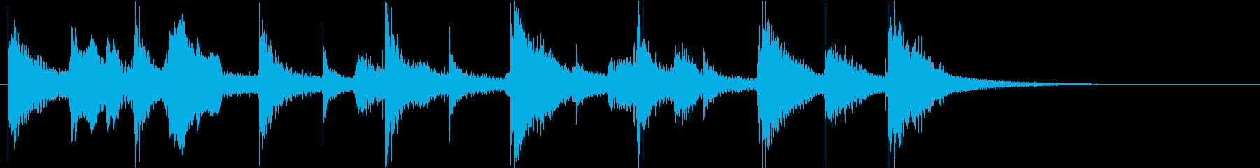 ジングル ウクレレ 口笛 かわいい の再生済みの波形