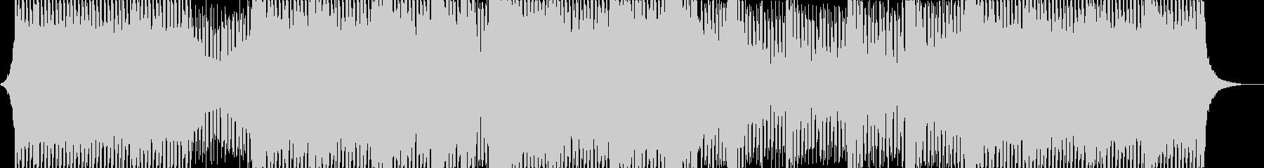 BGM向きの静か目なハウスサウンドの未再生の波形