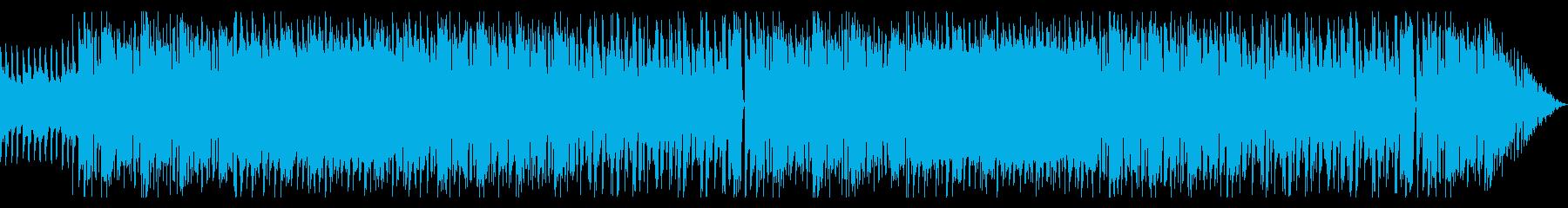 リフが特徴的な変拍子メタルの再生済みの波形
