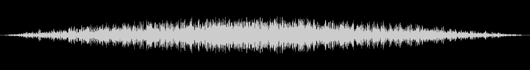 未知の領域1の未再生の波形