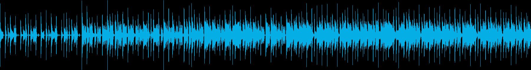 ギャグなエレクトロファンクの再生済みの波形