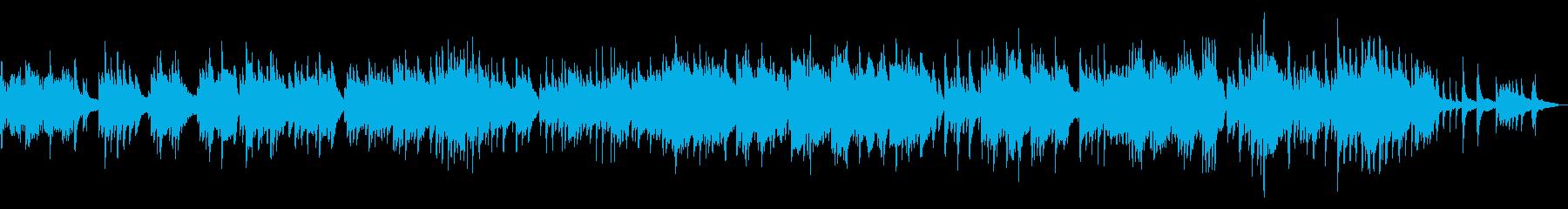 和の映像に似合うBGM 和楽器ピアノの再生済みの波形