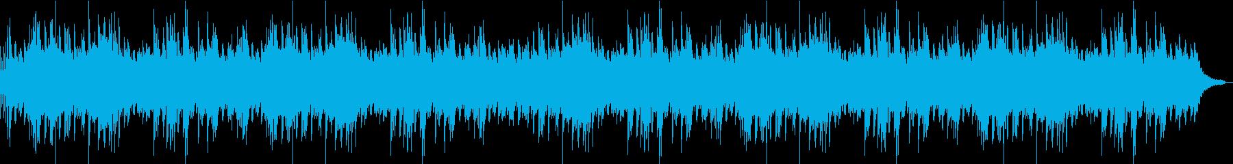 明るく前向きなメロディーのピアノソロの再生済みの波形