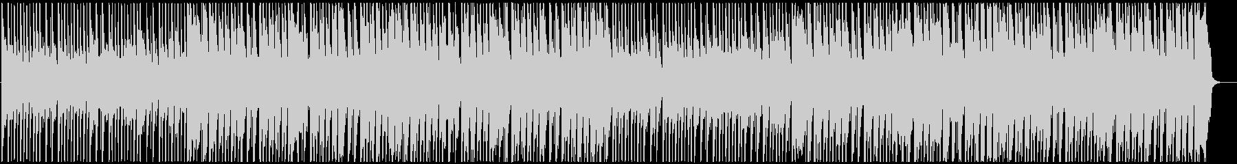 明るい4つ打ちガールズK-POPの未再生の波形