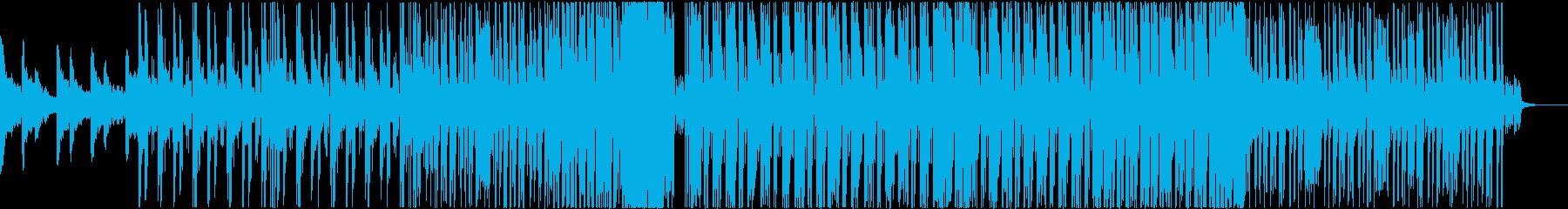 Kawaii系Future Bass 2の再生済みの波形