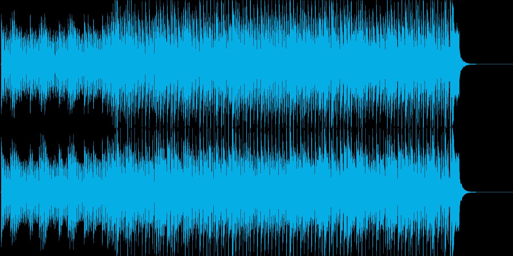 元気になるポップの再生済みの波形