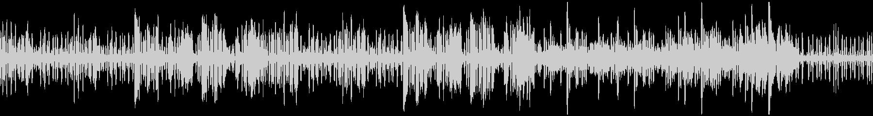 リコーダーの元気で可愛い曲3_ループの未再生の波形