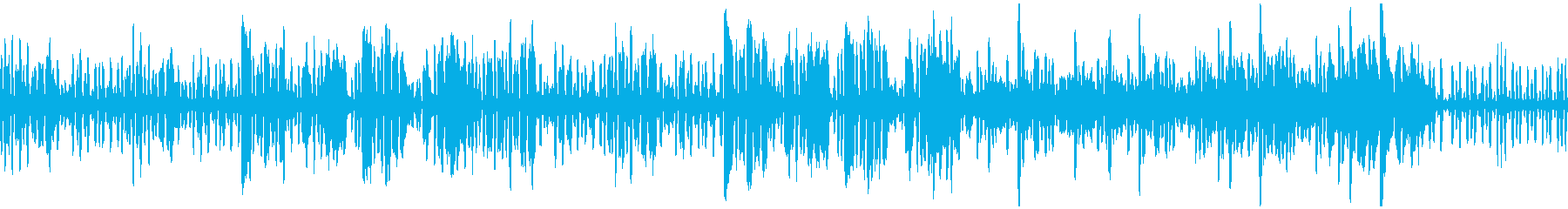 リコーダーの元気で可愛い曲3_ループの再生済みの波形