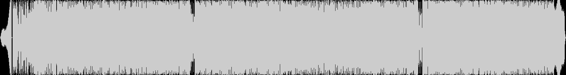 超楽しく盛り上がるテクノポップの未再生の波形