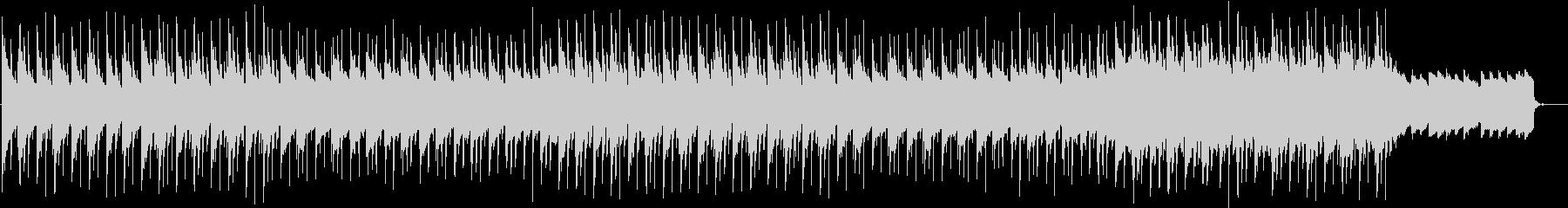 夜に溶けるチルアウトBGMの未再生の波形