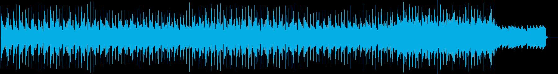 夜に溶けるチルアウトBGMの再生済みの波形