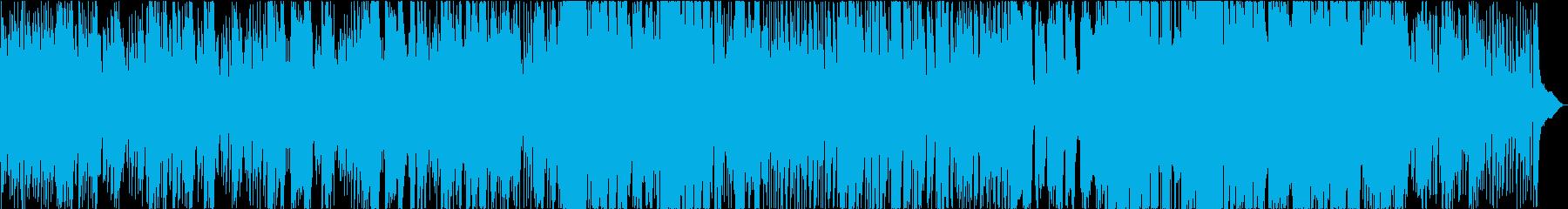 アコギ生音が際立つ月夜のラブソングの再生済みの波形
