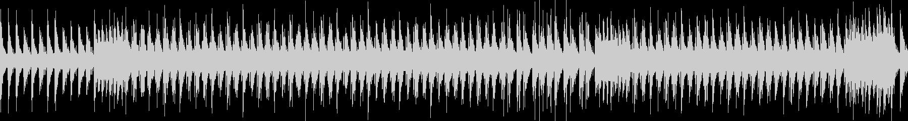楽しげなリズムの和太鼓 祭り風の未再生の波形