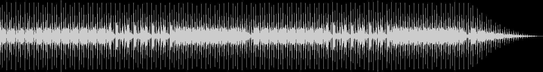 にぎやかなディスコサウンドの未再生の波形